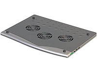 Xystec Notebook Cooler-Pad mit 2 USB-Ports