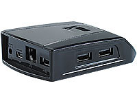 Xystec Portable Notebook-Dockingstation USB2.0, LAN & Audio