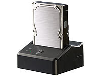 "Xystec USB-3.0-Dockingstation DSU-3200 Duo für 2,5"" & 3,5""-SATA-HDDs"