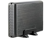 "Xystec Externes USB-3.0-Gehäuse für 3,5""-SATA-HDD ""HDE-1335.black""; SATA Festplatten Adapter, Festplatten Dockingstations SATA Festplatten Adapter, Festplatten Dockingstations SATA Festplatten Adapter, Festplatten Dockingstations SATA Festplatten Adapter, Festplatten Dockingstations"