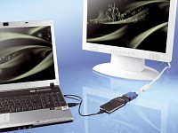 Xystec Multi-Display USB 2.0 auf DVI Adapter