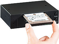 "Xystec Interne HDD-Docking-Station für 2,5 & 3,5"" SATA-HDDs"