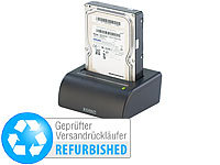 "Xystec USB-Docking-Station für 2,5"" & 3,5""-SATA-Festplatten (refurbished)"